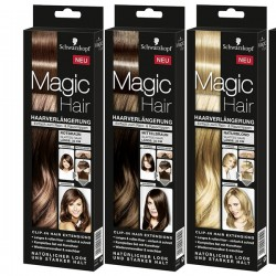 Schwarzkopf Magic Hair Extension De Cheveux 35 cm, blond foncé
