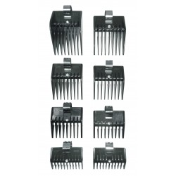 Lot de 8 contre peignes HAIRCUT